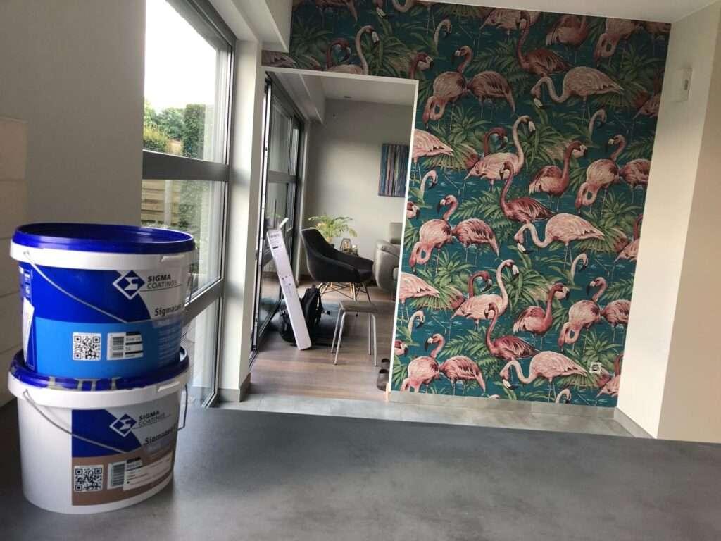 Behangen - Schilder - Dessel - Paint & Style Cuyvers - Mol - Balen - Geel - Kasterlee - Schilde - Zoersel